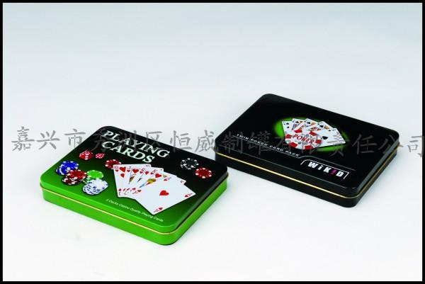 HW-两付扑克牌盒